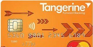 Tangerine Master Card