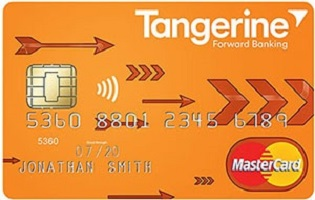 Tangerine Master Card, No-Fee Money Back Credit Card